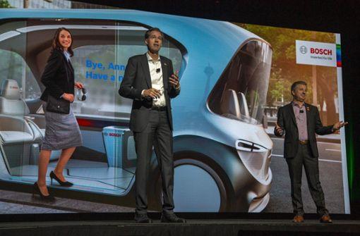 Bosch will führende Rolle bei autonomen Fahrzeugen einnehmen