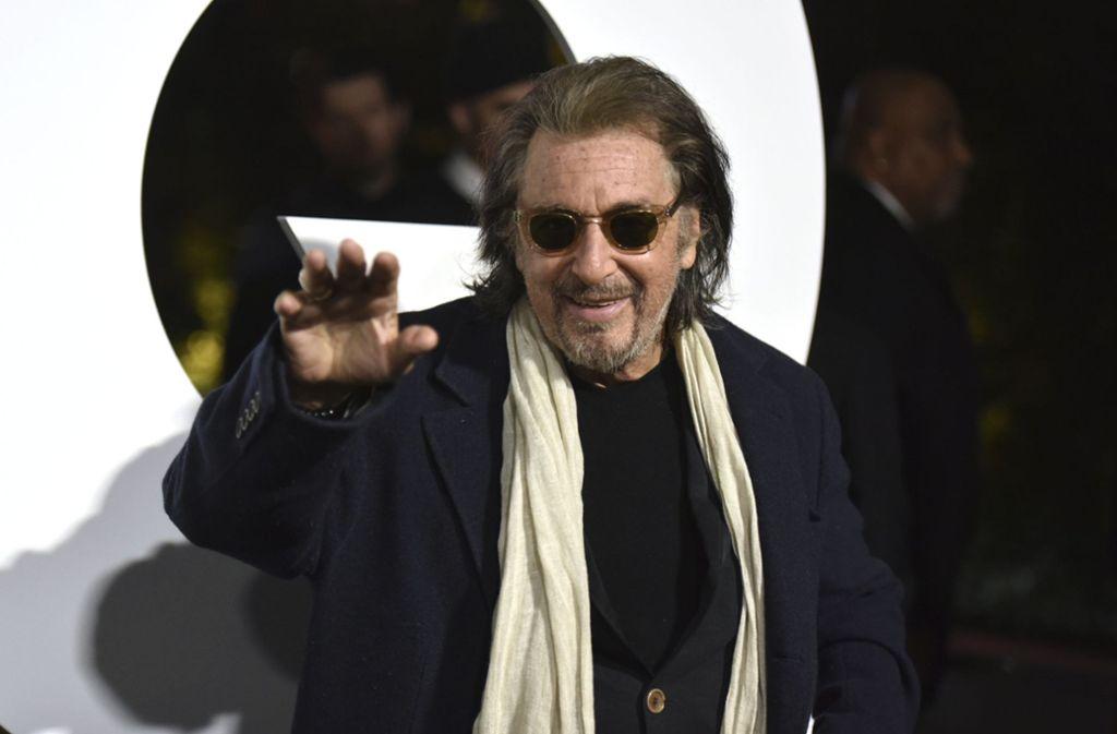 Der Schauspieler und Filmproduzent Al Pacino ist einer der GQ Men of the Year. Foto: AP/Richard Shotwell