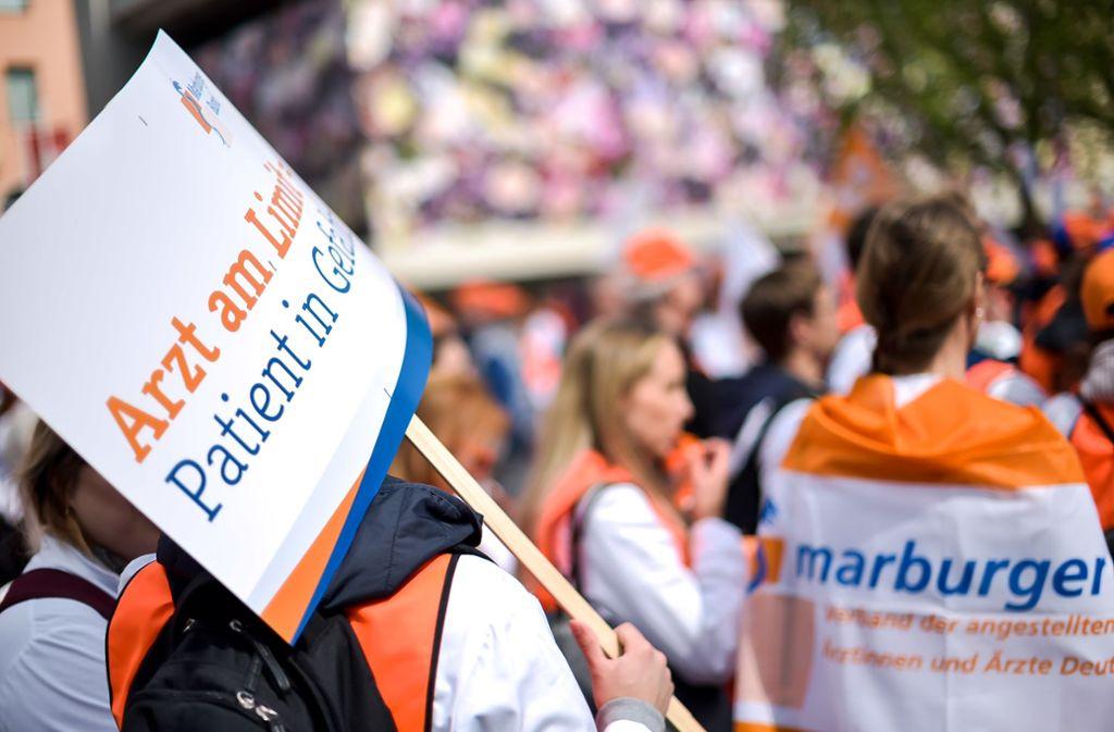 Die Gewerkschaft Marburger Bund tritt für die Interessen von Ärzten ein. (Archivbild) Foto: Lichtgut//Max Kovalenko