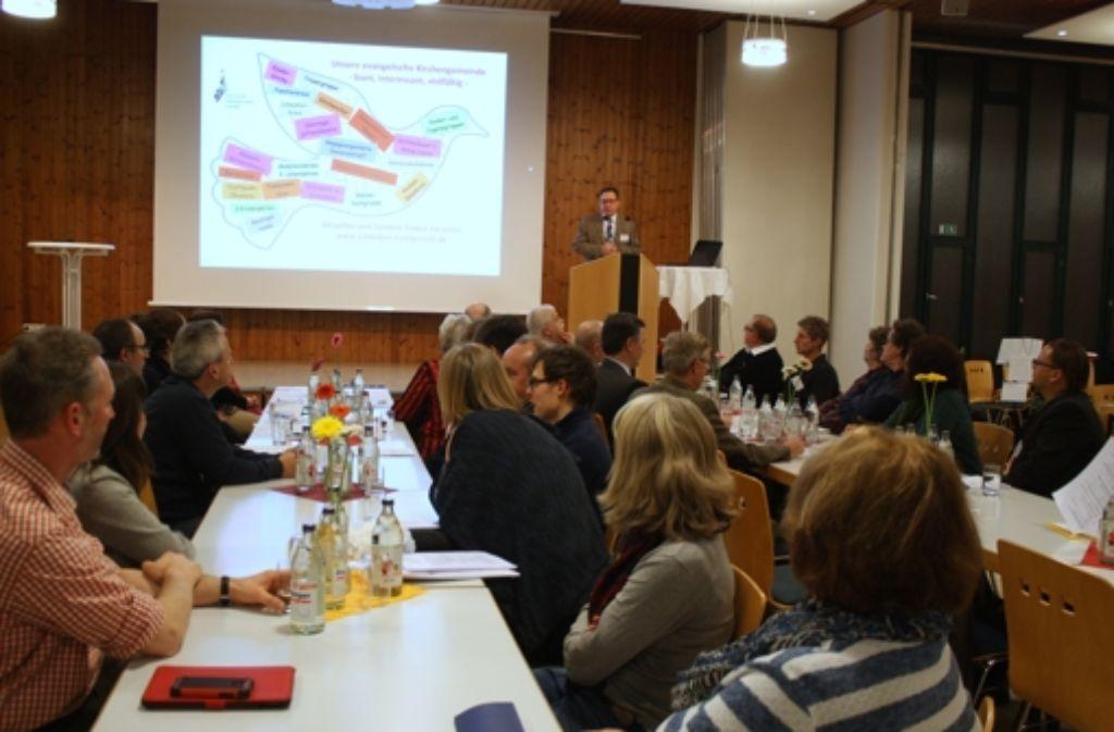 Inhaltlich brachte der Abend viele Ideen und Impulse. Foto: Eva Herschmann