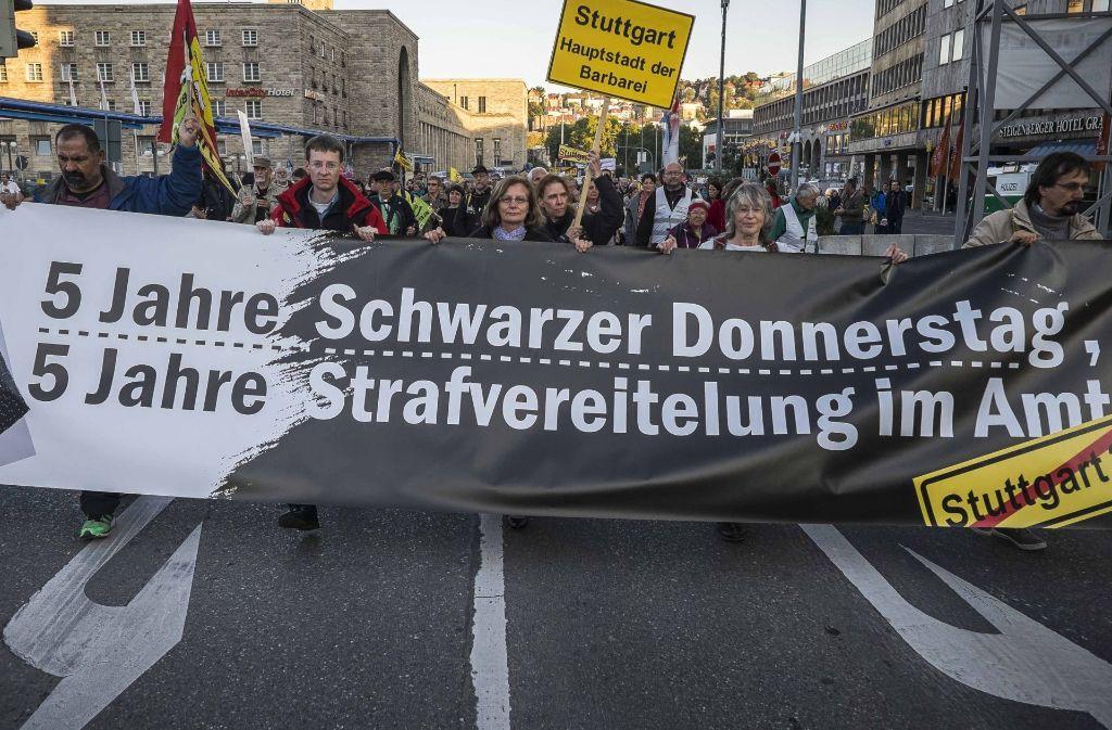 Der Schwarze Donnerstag hat nicht nur die Justiz beschäftigt. Foto: Lichtgut/Max Kovalenko