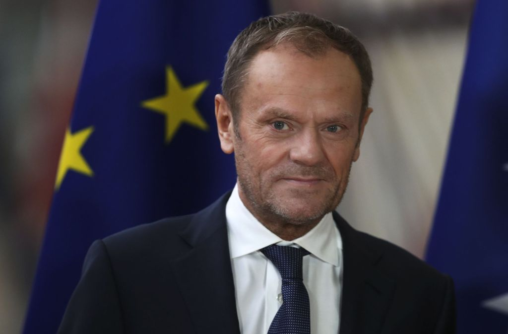 Laut EU-Ratspräsident Donald Tusk  gewährt die EU  Großbritannien einen weiteren Aufschub für den Brexit um drei Monate bis Ende Januar 2020. Foto: dpa/Francisco Seco