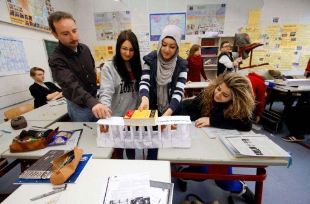 Praktischer Anschauungsunterricht  an Hauptschulen ist nicht sehr gefragt. Foto: dpa