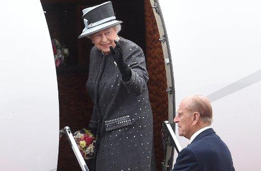 Queen Elizabeth II und Prinz Philip in Deutschland