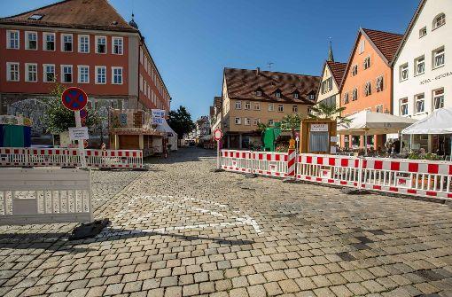 Am Tag nach den Krawallen beim Straßenfest in Schorndorf. Foto: 7aktuell.de/Simon Adomat