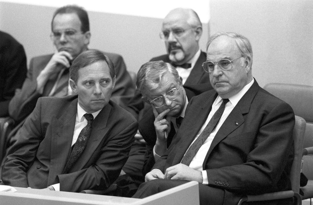Schäuble Kohl