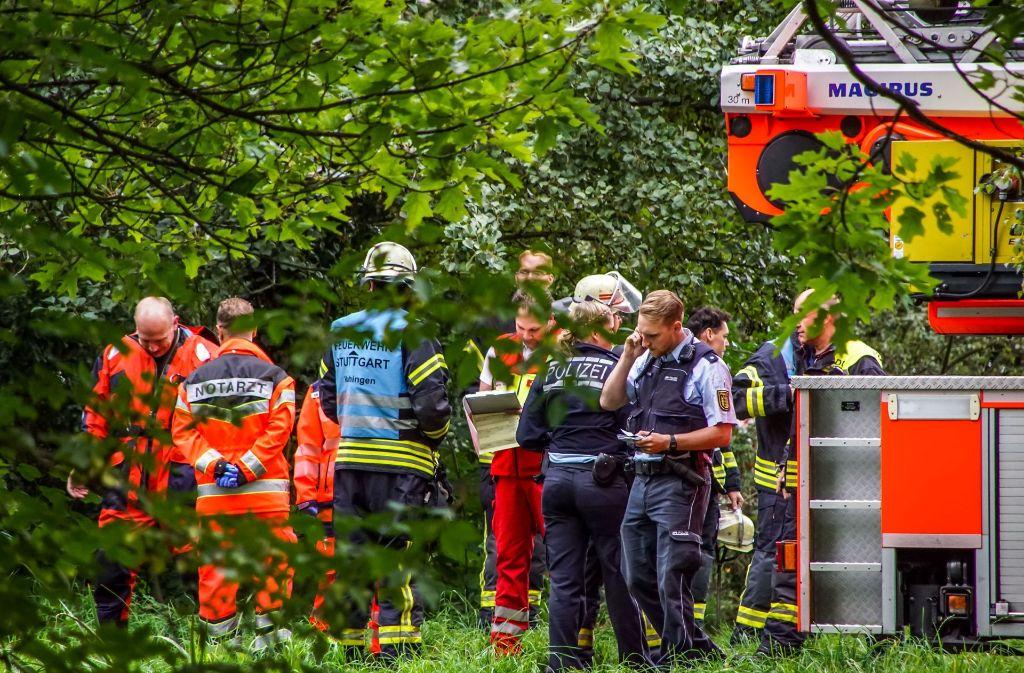 Nach der Bergungsaktion gehen die Ermittlungen weiter. Foto: SDMG