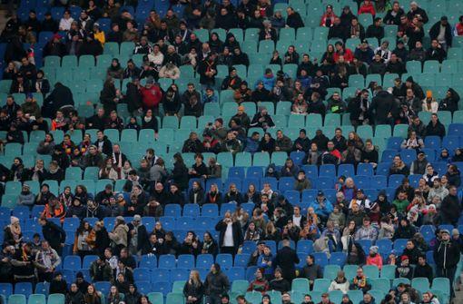 DFB-Team kämpft gegen massiven Zuschauerschwund