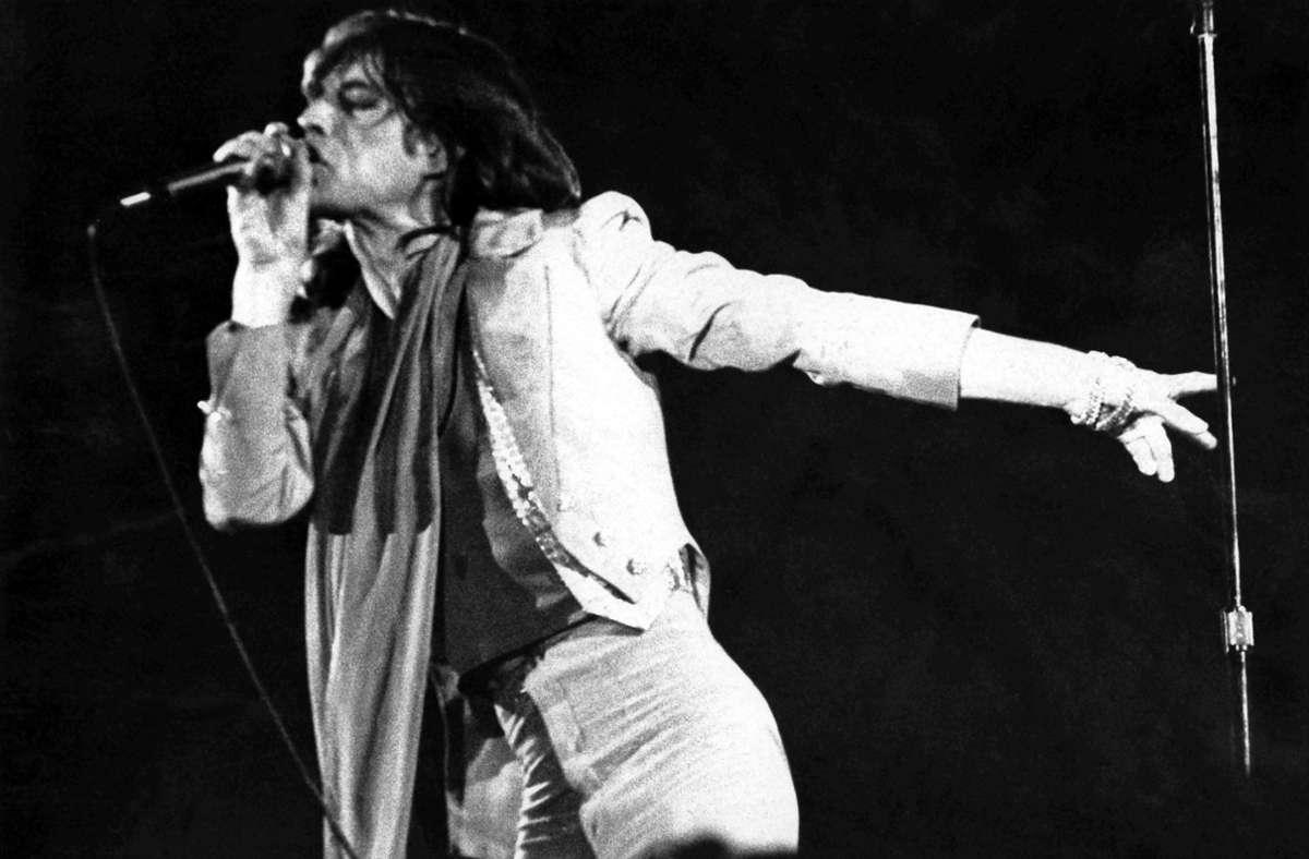 Der Auftritt der Rolling Stones und des Frontmanns Mick Jagger hat den Kritiker damals alles andere als überzeugt. Foto: dpa/DB Göllner