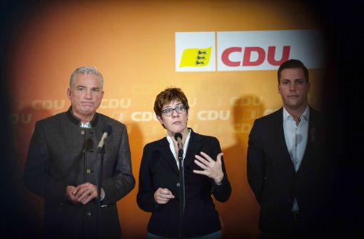 Die Landes-CDU steht im Abseits