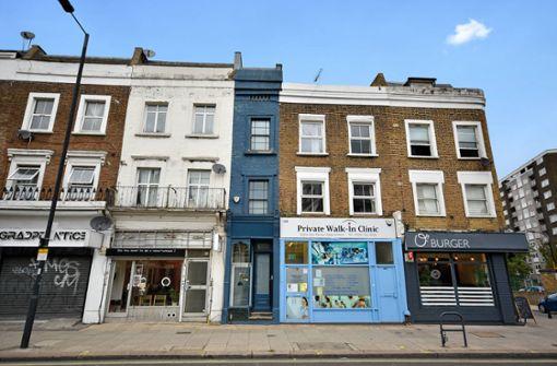 Das schmalste Haus Londons sucht einen neuen Eigentümer