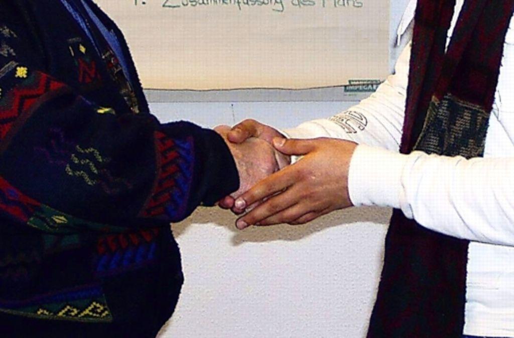 Eine Versöhnung zwischen Täter und Opfer kommt nicht immer zu Stande. Foto: Archiv