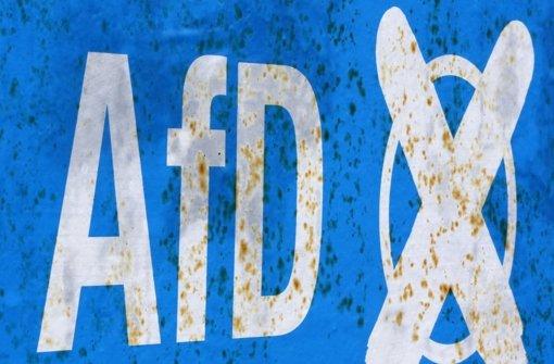 Bundesparteitag der AfD in Stuttgart