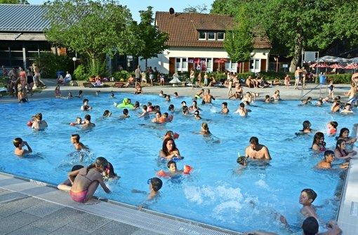 Rekordverdächtige Freibadsaison