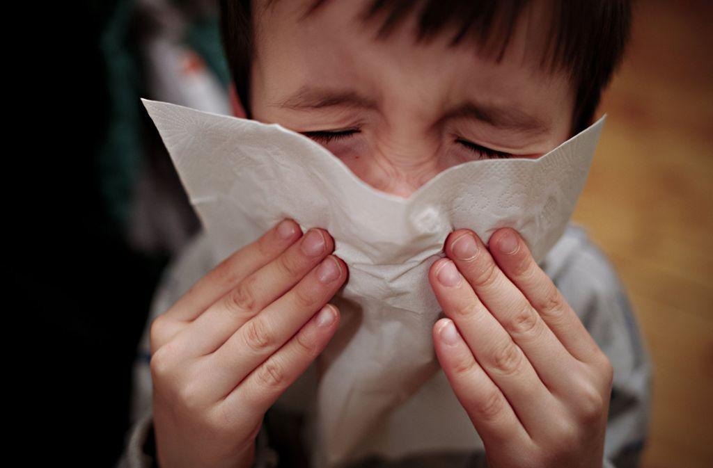 Die Grippewelle flaut in Deutschland wieder ab. (Symbolbild) Foto: dpa