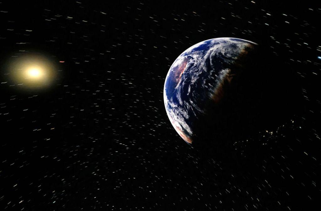 Die neue Technik im Planetarium bildet das Weltall  detailgetreu ab. Foto: Lichtgut/Achim Zweygarth