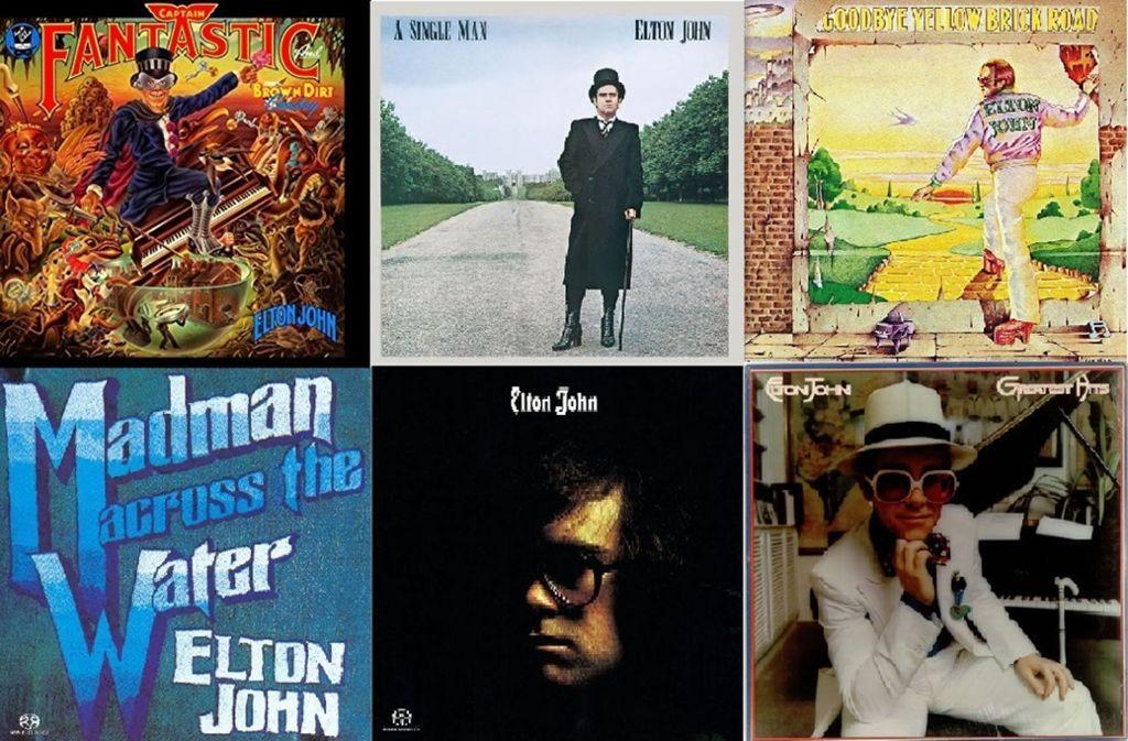 """""""Rocket Man"""", """"Crocodile Rock"""" oder lieber """"I'm Still Standing""""? Elton John verabschiedet sich im Rahmen seiner """"Farewell Yellow Brick Road""""-Tournee im Mai 2019 auch von seinem Stuttgarter Publikum. Foto: AFP"""