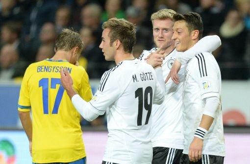 DFB-Elf siegt 5:3 in Schweden