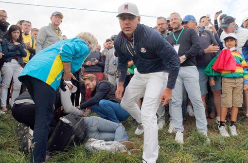 Bei Ryder Cup verletzte Zuschauerin verliert Sehkraft