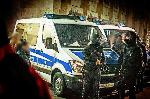 Großes Polizeiaufgebot an Silvester