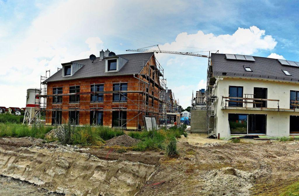 Zum Bauboom haben die niedrigen Zinsen erheblich beigetragen. Foto: Adobe Stock