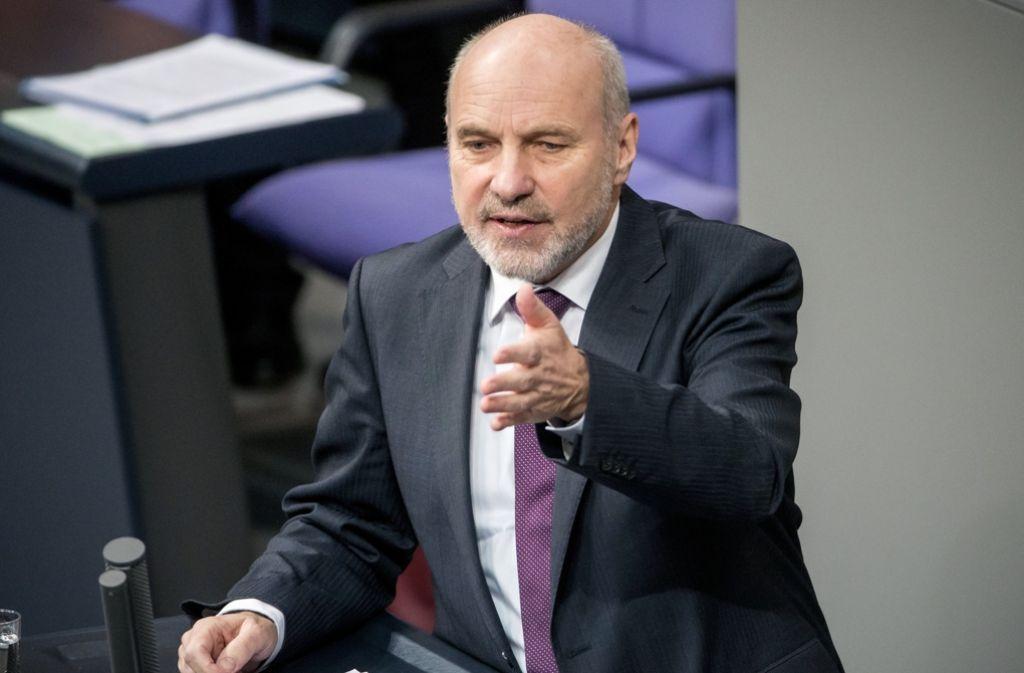 Der langjährige SPD-Verteidigungsexperte, Rainer Arnold ist seit 1998 im Bundestag – und will nun nicht mehr kandidieren. Foto: dpa