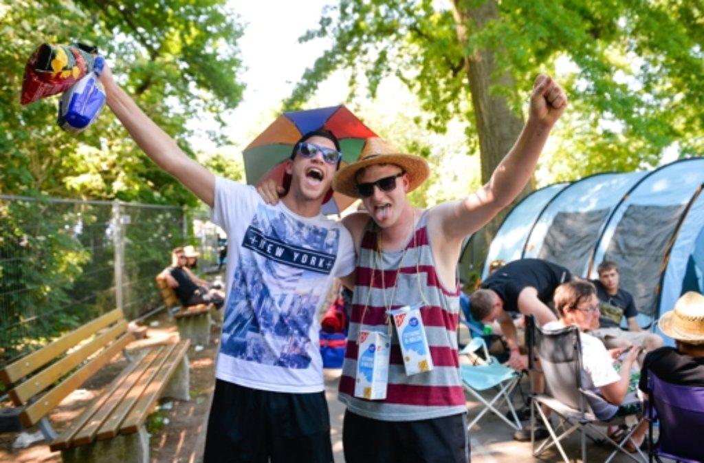 Die Festivals Rock am Ring und Rock im Park beginnen.  Foto: dpa