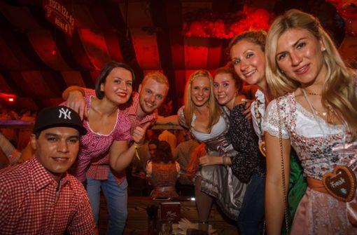Beim Wasenwirt feiert die Partymeute ins Wochenende
