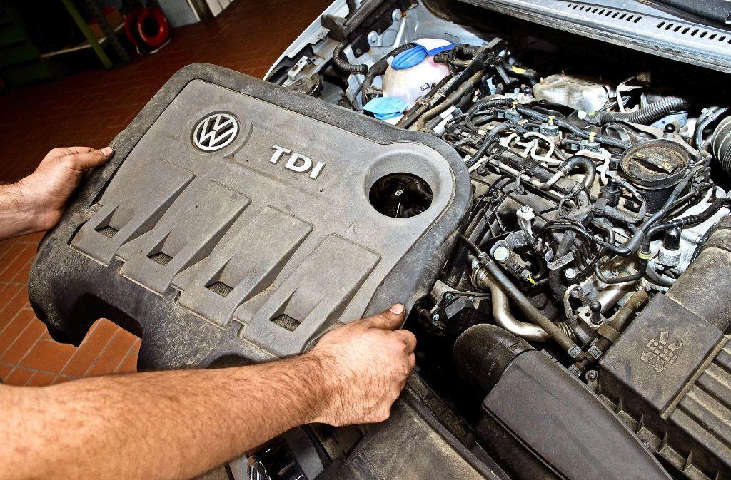 Autos mit Dieselmotor sind immer weniger gefragt. Foto: dpa