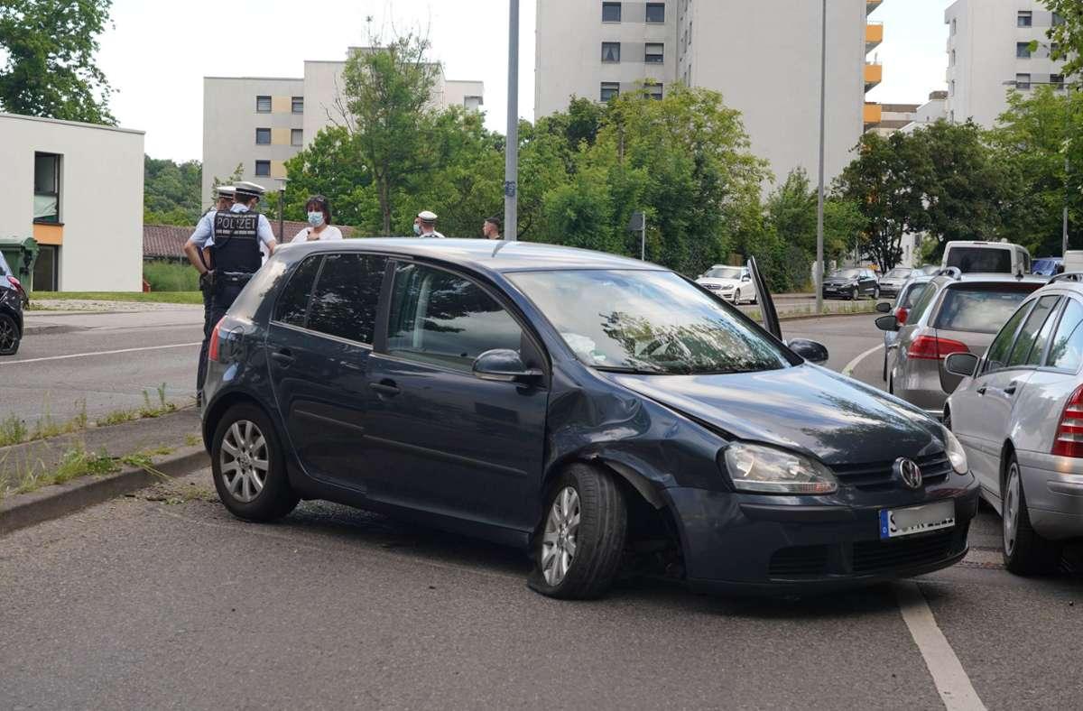 Die Polizei schätzt den Schaden auf etwa 13.500 Euro. Foto: Andreas Rosar Fotoagentur-Stuttg