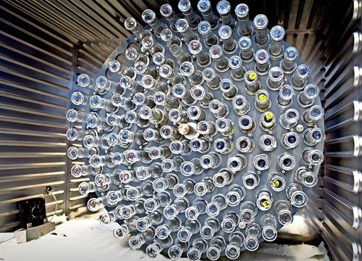Eine Biogasanlage, die alles frisst