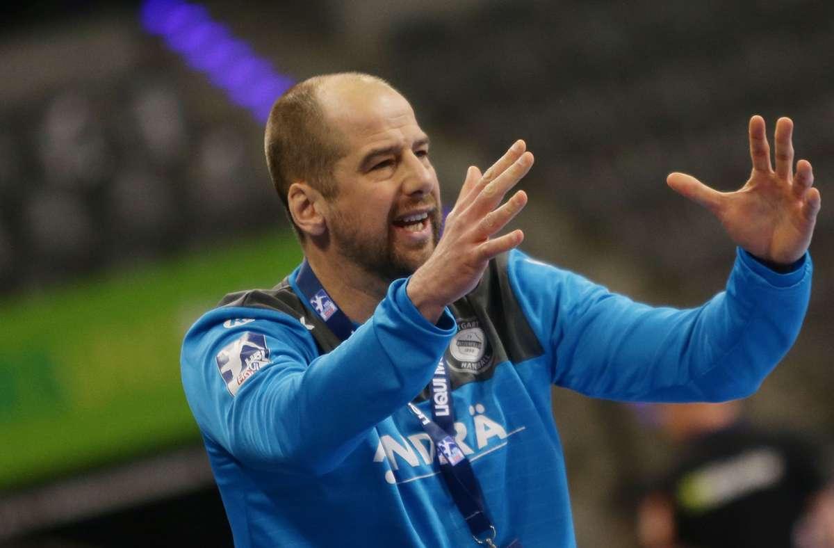 Sehr unzufrieden: TVB-Trainer Jürgen Schweikardt. Foto: Baumann