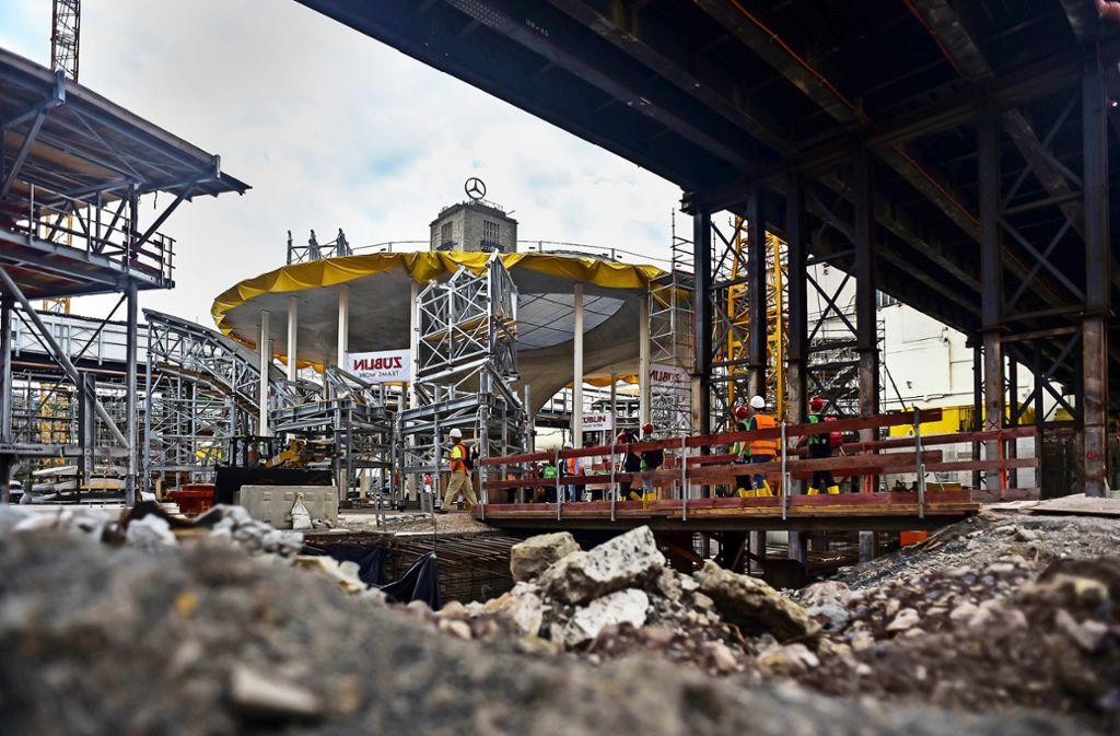 Millionen-Puffer für das Projekt Stuttgart 21 Foto: Lichtgut