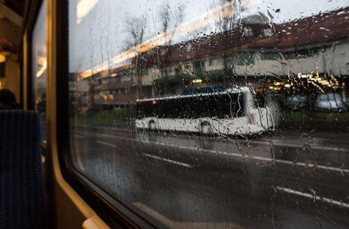 Regen und Wind waschen Luft rein vom Feinstaub
