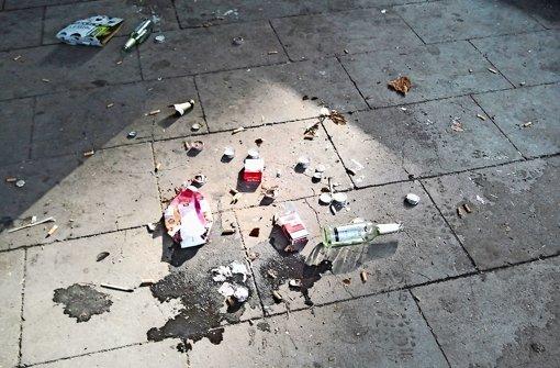 Ist die Jugend am  Müll schuld?