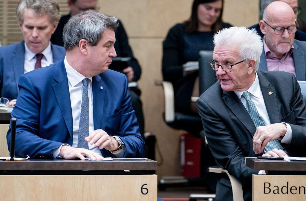 Die beiden Ministerpräsidenten wollen nach dem angekündigten Kohleausstieg Klarheit. Foto: dpa