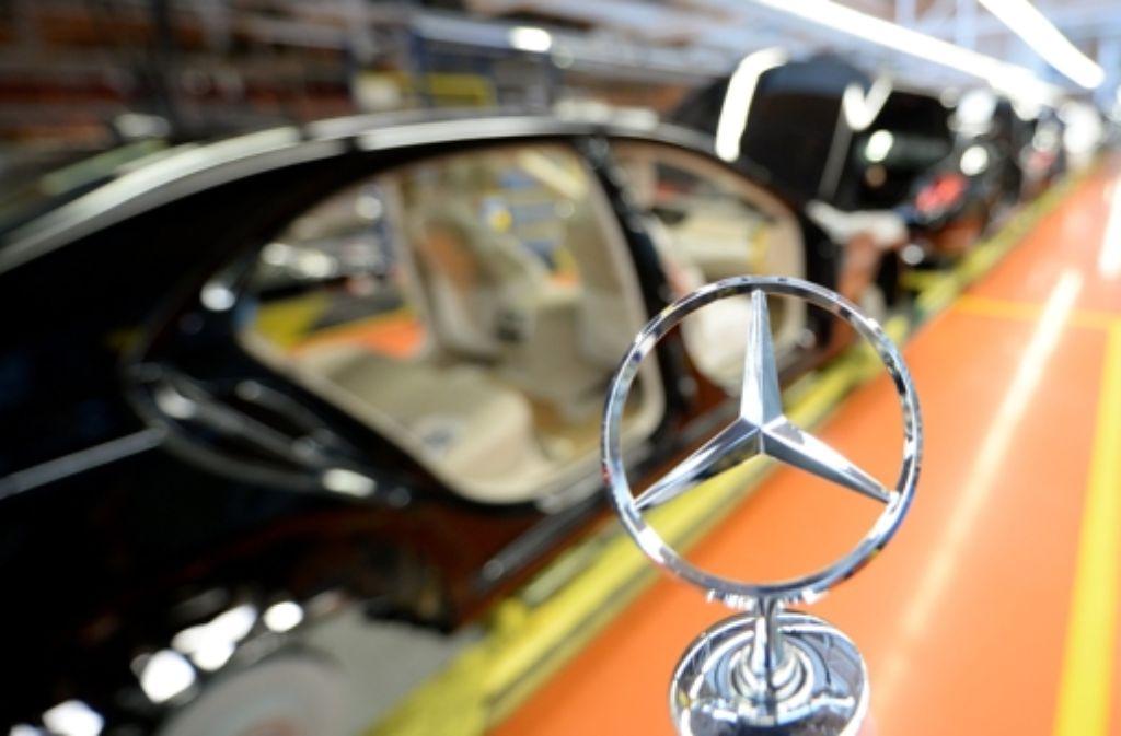 Daimler kann mit seinem Gewinn im Jahr 2013 zufrieden sein. Foto: dpa
