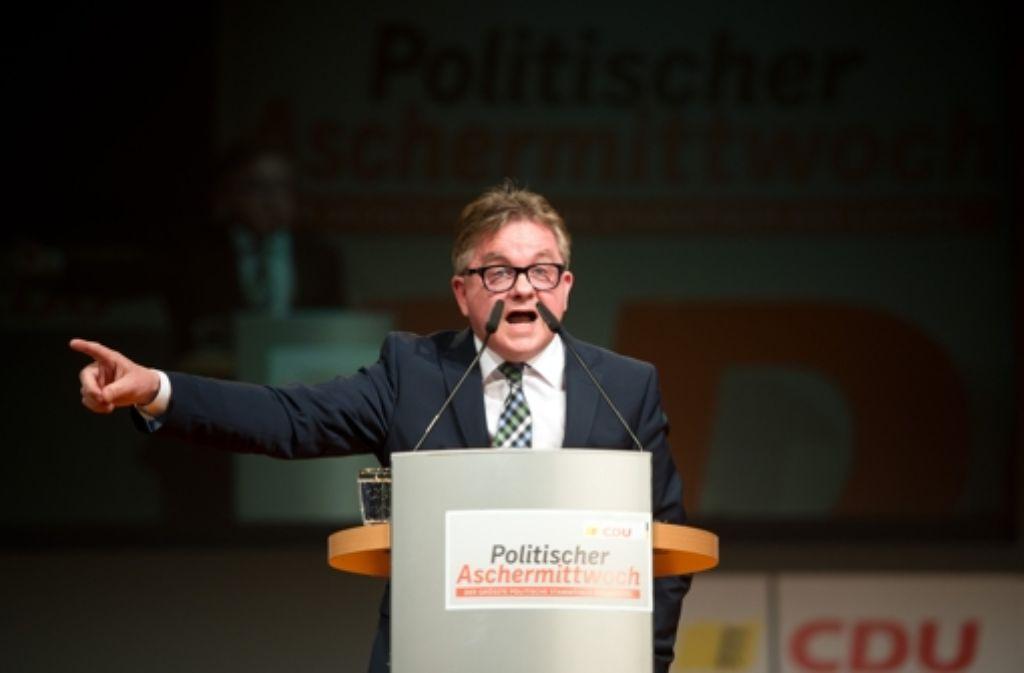 CDU-Spitzenkandidat Guido Wolf will im Wahlkampf mit Bedacht vorgehen. Foto: dpa