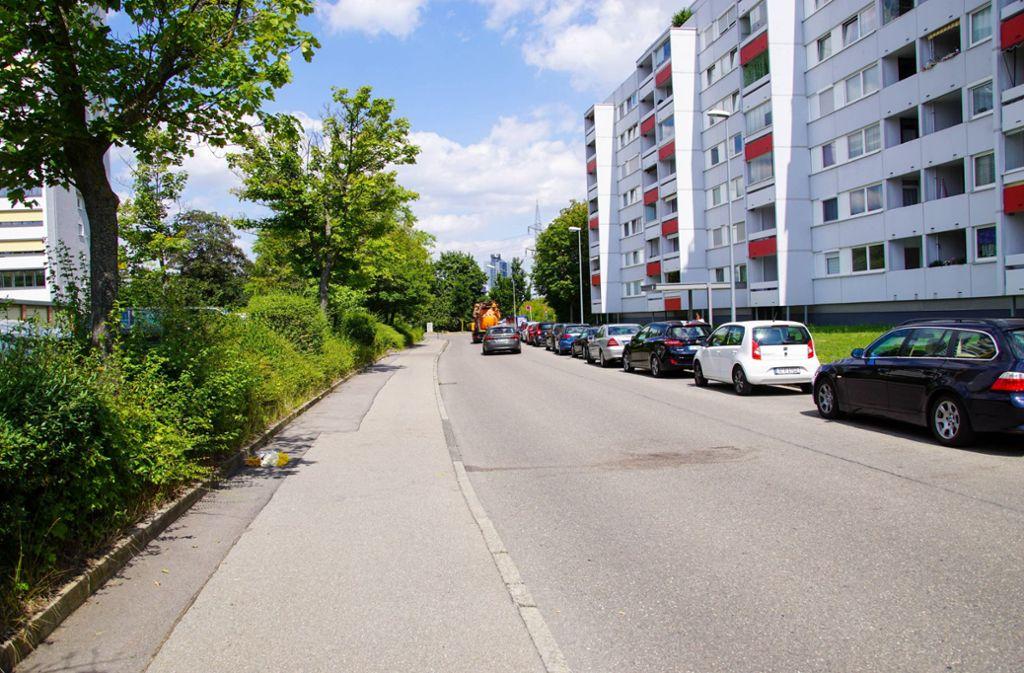 Die Fasanenhofstraße: Hier wurde die grausame Bluttat verübt. Foto: 7aktuell.de/Andreas Werner