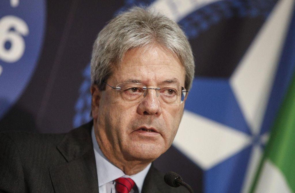 Der italienische Außenminister wird neuer Ministerpräsident. Foto: dpa
