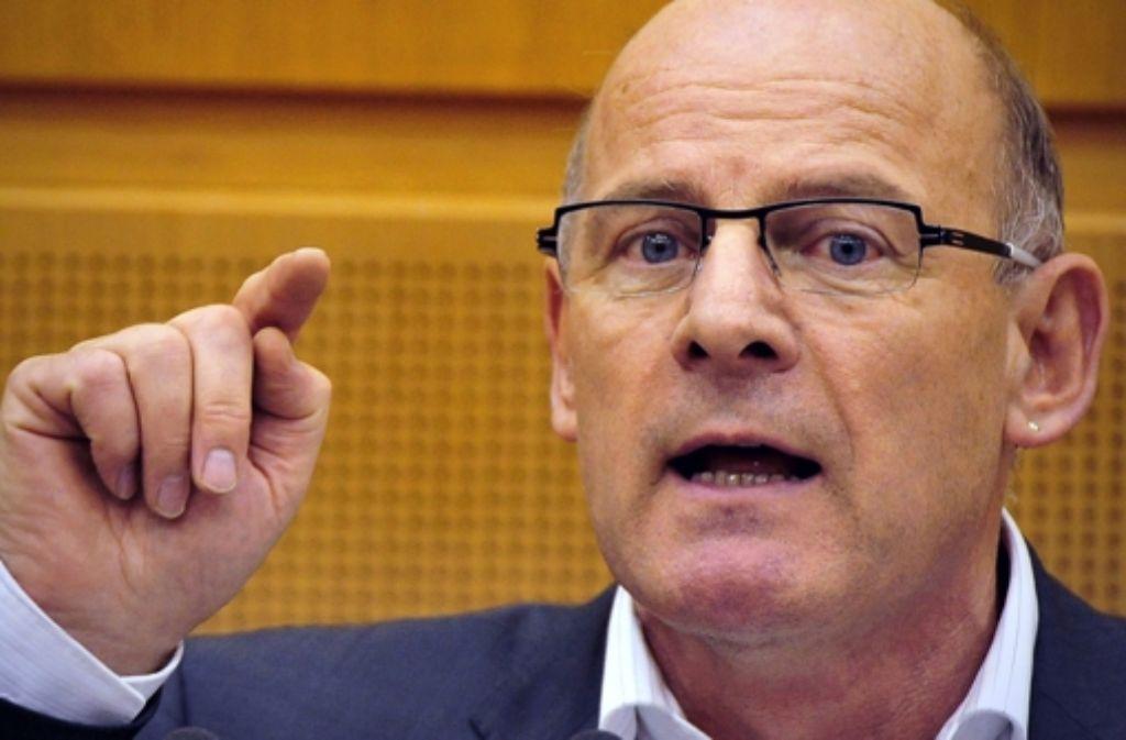 Winfried Hermann sieht sich Vorwürfen der Stuttgart-21-Gegner ausgesetzt. Foto: dpa