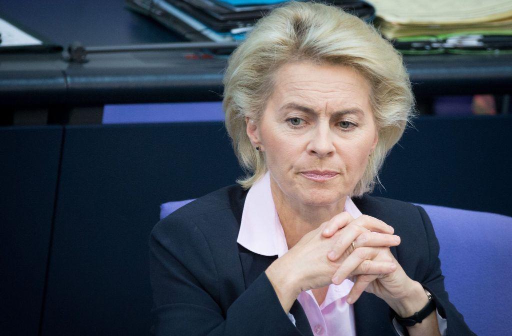 Verteidigungsministerin Ursula von der Leyen (CDU) habe sich persönlich in den Fall eingeschaltet, so Spiegel Online. Foto: dpa