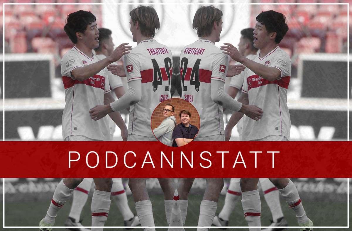 Der VfB und seine Schlüsselspieler – eine gewisse Abhängigkeit ist nicht von der Hand zu weisen. Foto: StZN/Imago