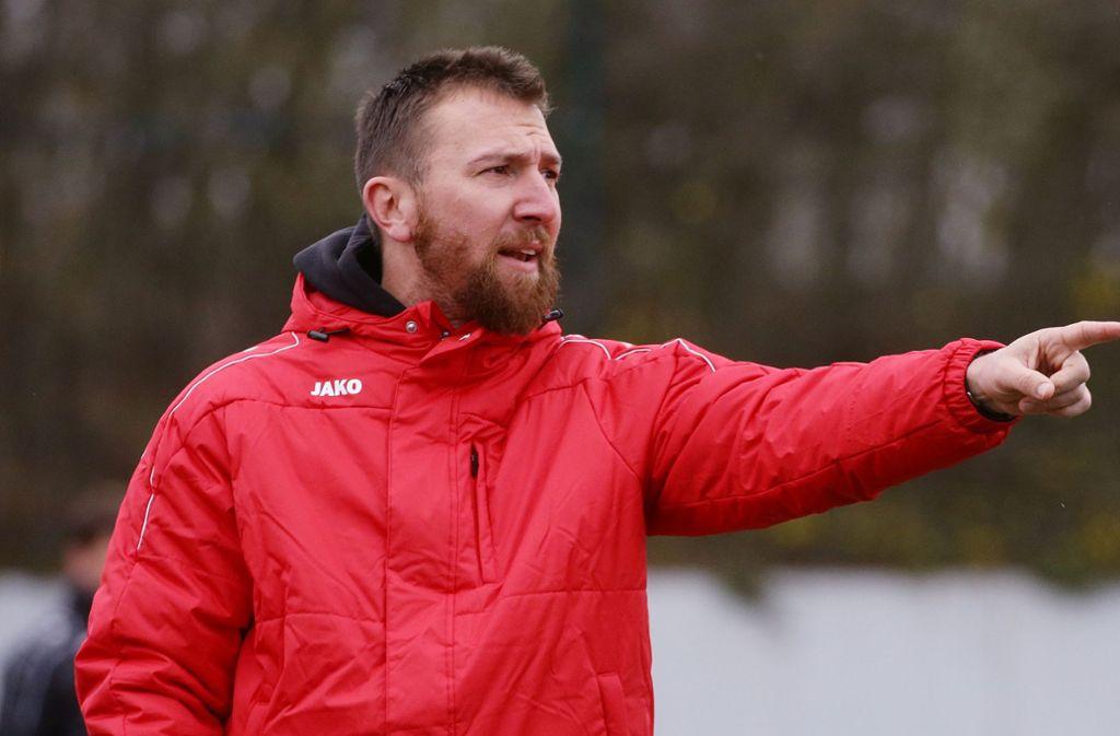 Von Sommer an neuer Coach des aktuellen Verbandsliga-Spitzenreiters  TSG Backnang: Holger Ludwig. Foto: Baumann