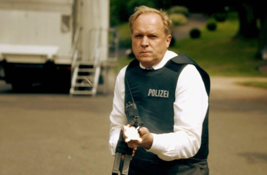 Ulrich Tukur als Tatort-Ermittler Felix Murot in Im Schmerz geboren. Foto: HR/Pressestelle