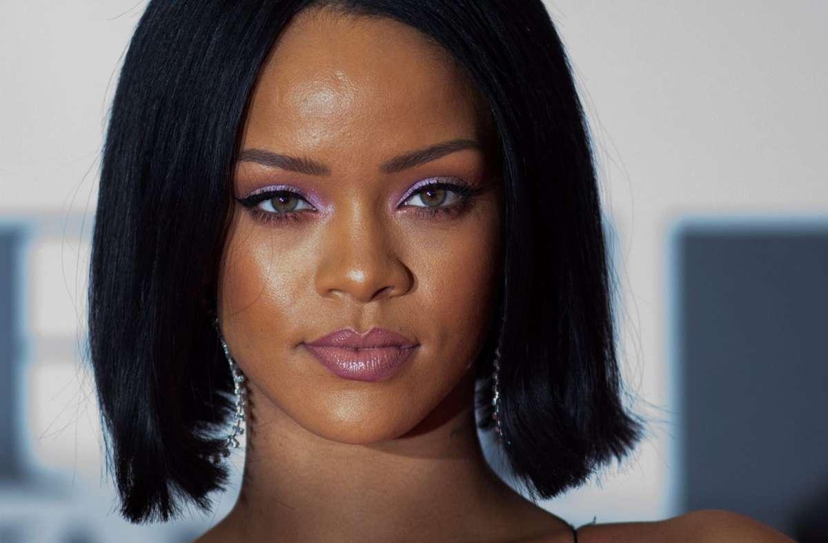 Rihanna hatte kürzlich in Indien Schlagzeilen gemacht, nachdem sie sich zu den großen Bauernprotesten in dem Land geäußert hatte. Foto: dpa/Andrew Cowie