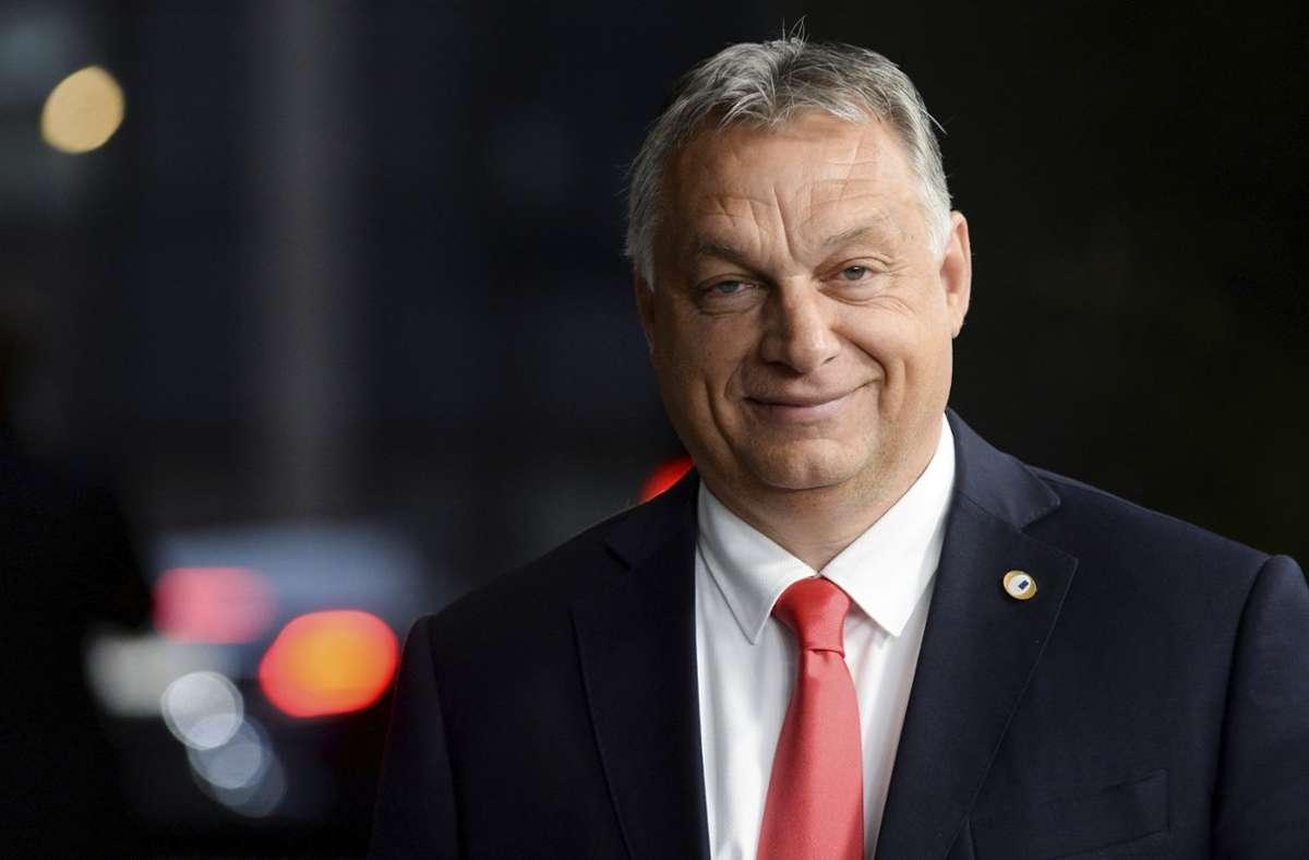 Ministerpräsident Viktor Orban. Foto: dpa/Johanna Geron