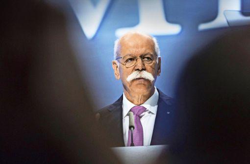 Zetsche sagt ab – Daimler  muss von vorne  suchen