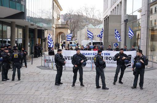 Rechtsextreme gehen in Stuttgart in die Öffentlichkeit