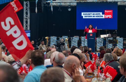 SPD nur noch die drittstärkste Kraft im Bund